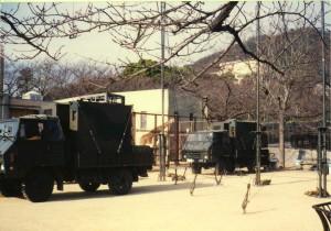キリン舎前自衛隊873